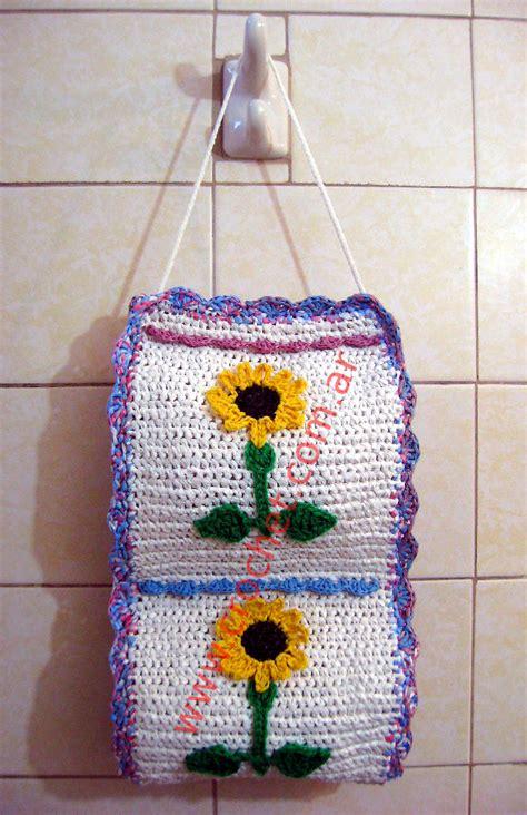 porta rollo para cocina a crochet porta bolsas a crochet newhairstylesformen2014 com