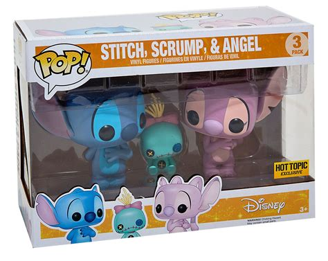 Hot Topic Gift Card Code - hot topic exclusive stitch funko pop 3 pack out now fpn