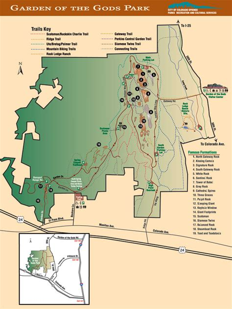garden of the gods map outdoor wonders of colorado garden of the gods part 6 white water rafting trips atv tours