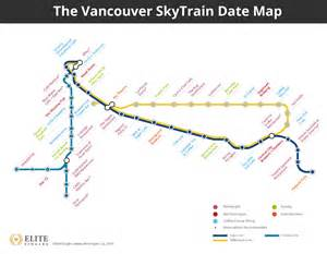 vancouver skytrain canada line map plan your s day with this skytrain date map