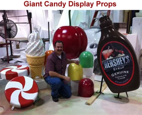custom made big giant foam props sculptures made to