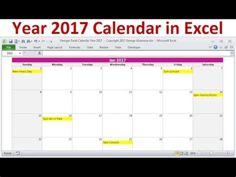 2017 calendar xls happywinner co