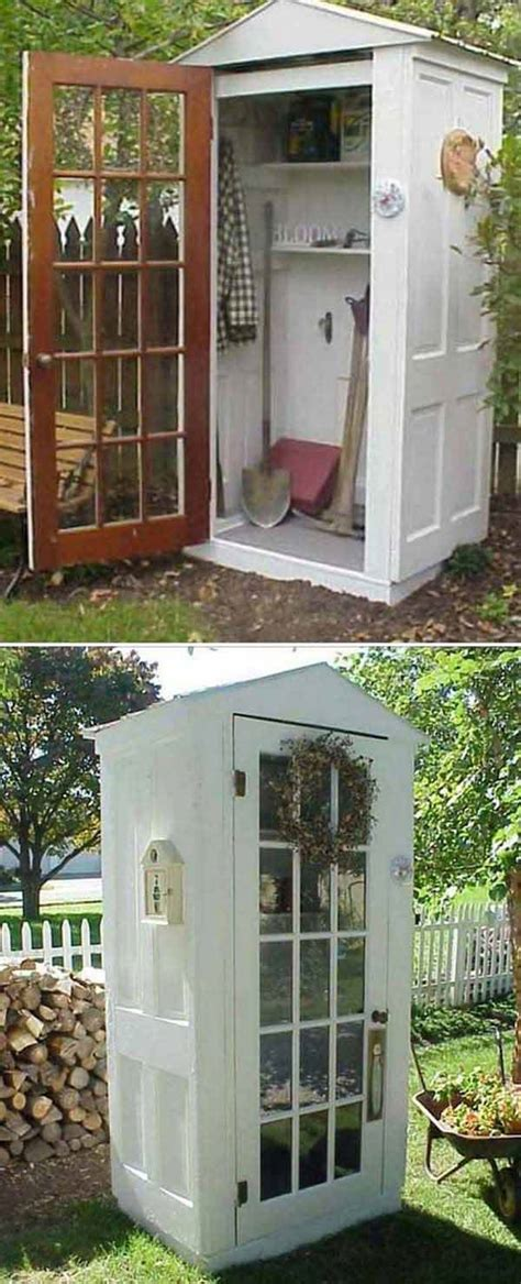 Shed Made From Doors by The Best 35 No Money Ideas To Repurpose Doors
