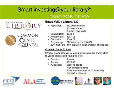 Ucf Mba Information Session by Smart Investing Your Library Program Models That Work