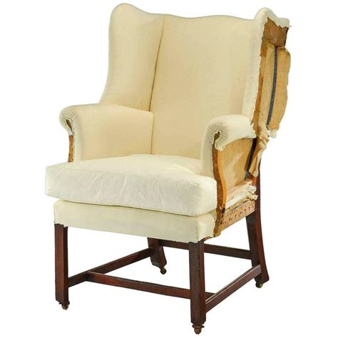 small wingback chair chippendale design wing chair of small proportions for