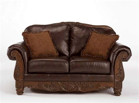 ashley furniture north shore sofa 100 leather upholstery sofa love north shore by ashley
