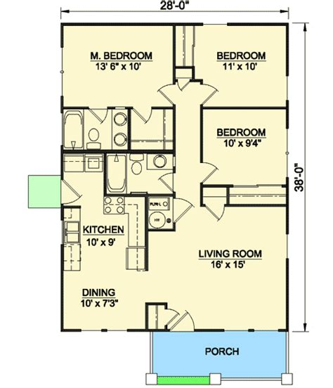 Starter Home Plans by Craftsman Starter Home 12727ma 1st Floor Master Suite
