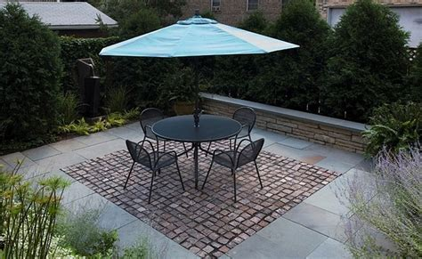recycled patio pavers recycled pavers patio chicago by the garden consultants inc