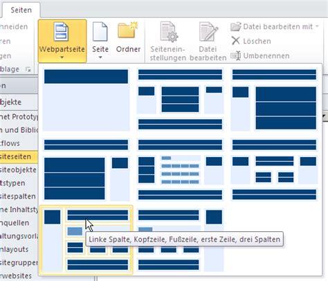Sharepoint Design Vorlagen sharepoint 2010 website vorlage per sharepoint designer