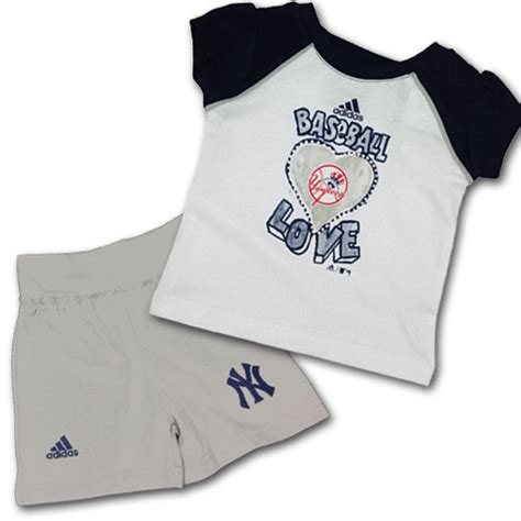 Set Yankees Baby Blue 1 yankees infant t shirt and set babyfans