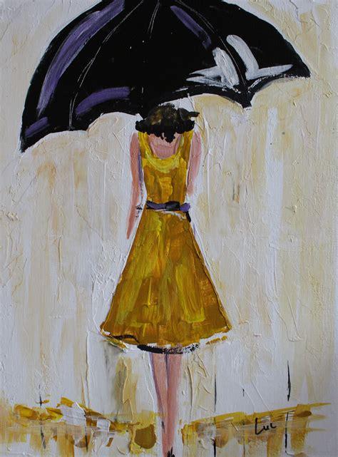 acrylic painting umbrella buy a made umbrella in yellow acrylic painting