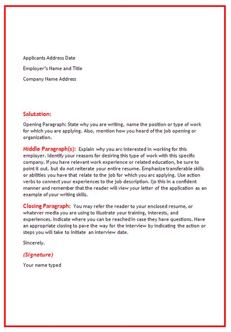 warehouse worker cover letter sle and template
