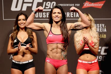 Claudia Gadelha In Ufc Weigh In Of Zimbio