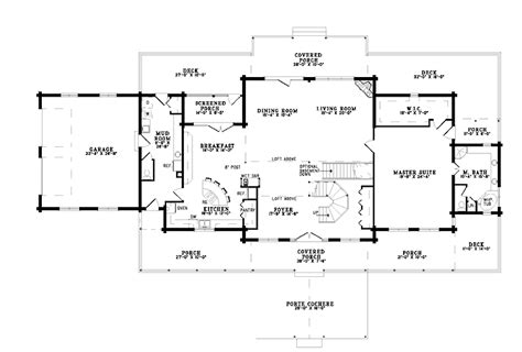 house plans with porte cochere magnificent porte cochere hwbdo55577 log house plans
