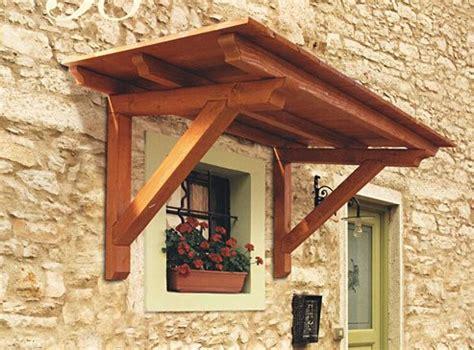 piccole tettoie in legno le pensiline in legno per la tua casa