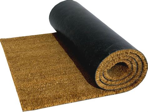 Doormat Company by Pvc Backed Large Heavy Duty Coir Door Mat Floor