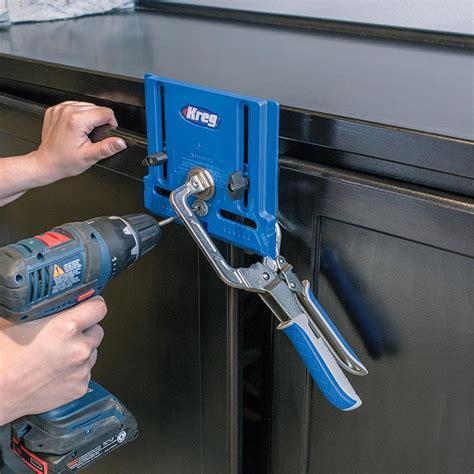 kreg cabinet hardware jig kreg cabinet hardware jig