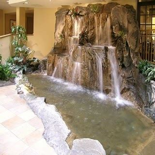 inspiration for the indoor waterfall home decoration