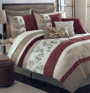 Cheap Bed In The Bag Sets Get Cheap Sagamore Khaki Oversize 8 Comforter Bed In A Bag Set Deals 2011
