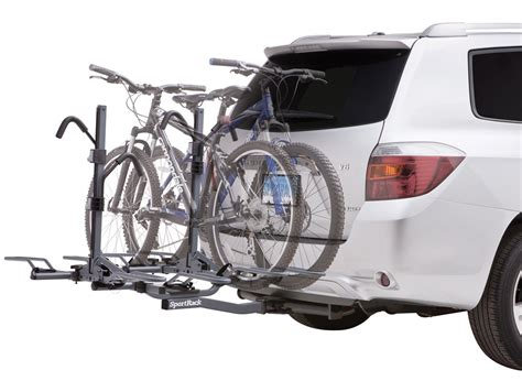 Bike Rack Styles by Sportrack 4 Bike Rack For 2 Quot Hitches Locking Platform