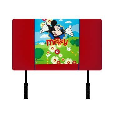 mickey mouse headboard disney mickey mouse clubhouse upholstered twin headboard