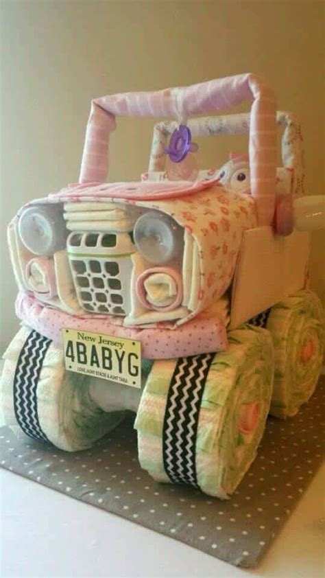 jeep cake tutorial 17 best images about diaper and towel cakes on pinterest