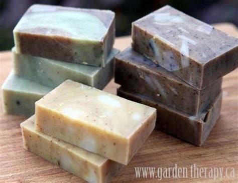 Handmade Soap Recipes - cold process all handmade soap garden therapy