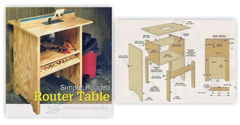 simple router table plans simple router table plans woodarchivist
