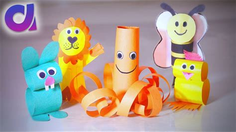 How To Make Paper Toys At Home - 5 coolest paper toys for you can make at home