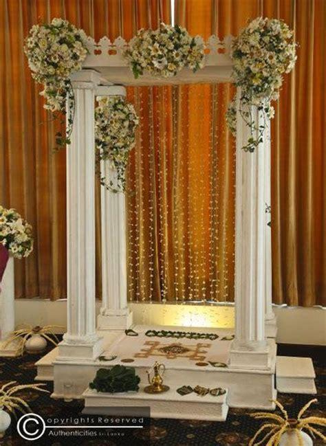 36 best Poruwa images on Pinterest   Wedding decor