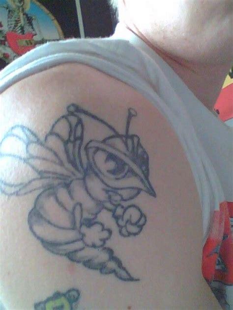 hornet tattoo mickeys hornet tattoos
