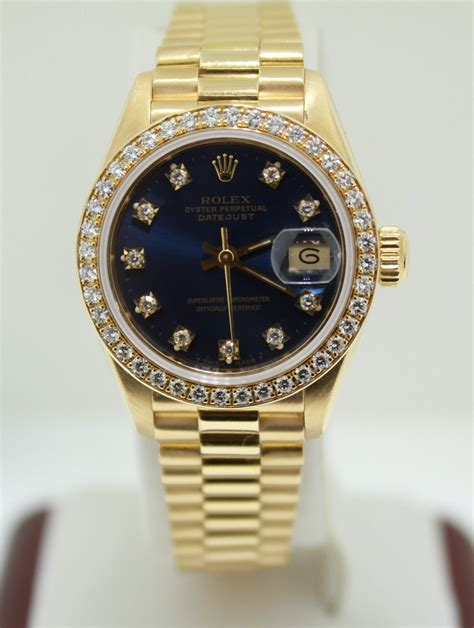 rolex yellow gold original and