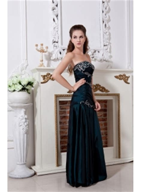 Hunter Green High  Graduation Dresses with Embroidery IMG 1804:1st dress.com