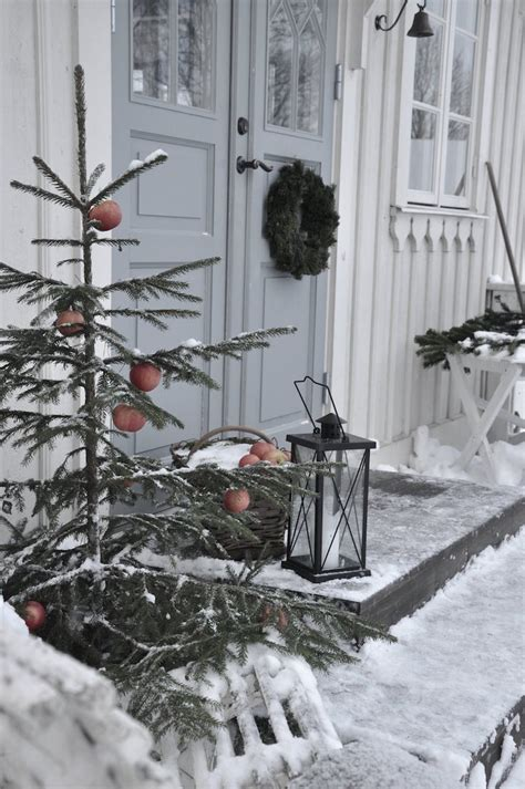 cozy rustic outdoor christmas decor ideas interior god