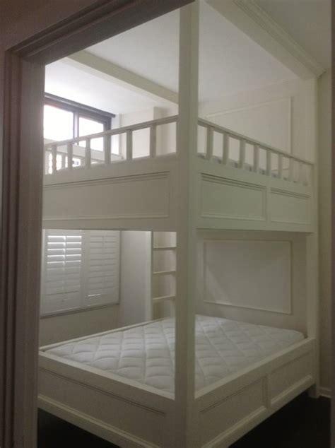 queen size bunk beds custom designed and built queen size bunk bed