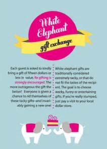 white elephant invitation stylish photo card flickr