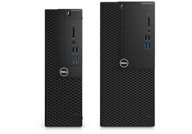 Desktop Dell Optiplex 3050sff optiplex 3050 tower and small form factor dell
