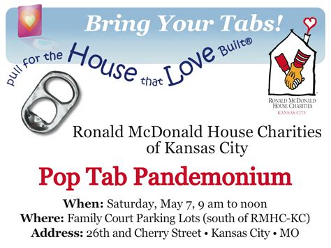 ronald mcdonald house kc pop tab pandemonium kenton brothers systems for security
