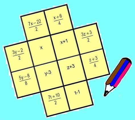 imagenes juegos matematicos secundaria ecuaciones de primer grado juegos y matem 225 ticas