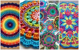reciclando con erika mandalas a crochet v 237 deo tutorial