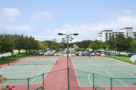 lighted tennis courts near me night lighted tennis court and basketball court at caribe