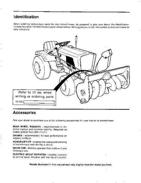 simplicity 1691521 1691522 1690557 36 42 inch snow blower owners manual