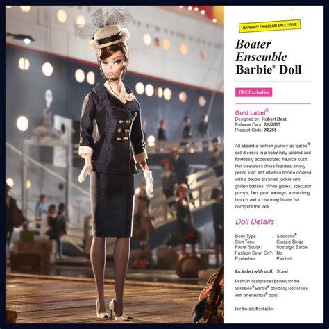 Exclusive Dress Chiffon Korea Hitam Ungu Import Limited Edition collector fan club exclusive boater ensemble silkstone doll new nrfb ebay