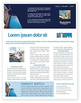 Building Company Newsletter Template For Microsoft Word Adobe Indesign 02402 Download Now Construction Newsletter Template
