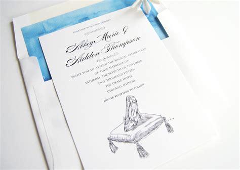 cinderella wedding invitation template disney cinderella s glass slipper fairytale wedding