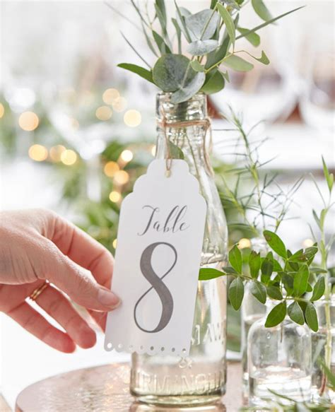 7 memorable wedding table number ideas party delights blog
