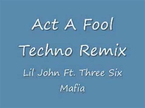 Act A Fool Remix | act a fool remix youtube