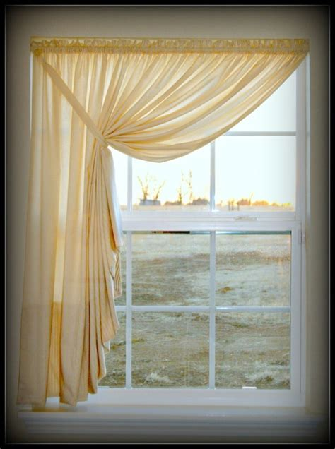 Swag Valance Tutorial 25 best ideas about swag curtains on country style curtains tropical window