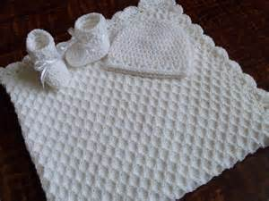 tricot crochet blanc personnalis 233 couverture de b 233 b 233 bonnet