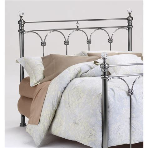 Spindle Headboards by Bernards Athena Poster Spindle Headboard In Nickel 1130
